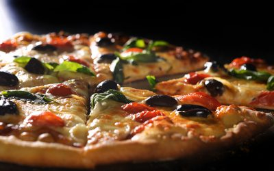 פיצה סיצליאנית - מוקטן